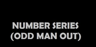 Number Series ( Odd Man out)