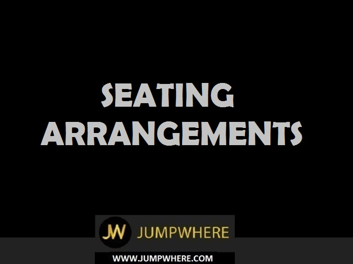 questions seating arrangement logical sequence of Logically and type wise reasoning can be divided into few more sections  need  to arrange the objects or persons in different order like row or circular way the  seating arrangement question can be asked in four ways.