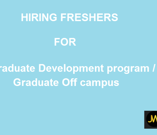 Graduate Development program / Graduate Off campus