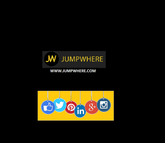 jumpwhere social media share