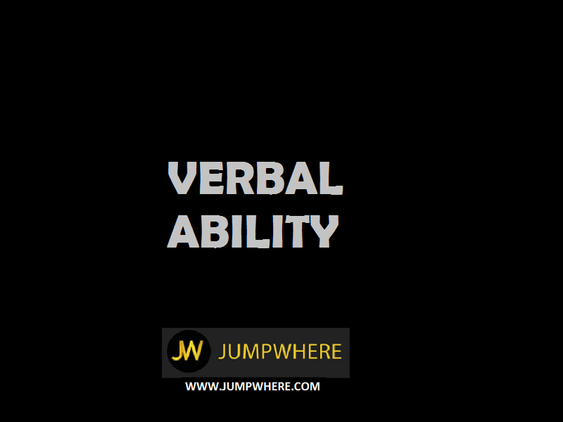 verbal ability
