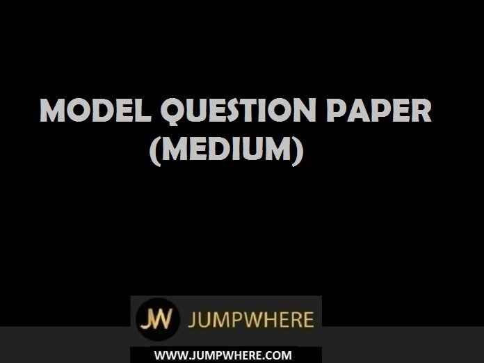 Aptitude Model Question Paper (Medium– Level)