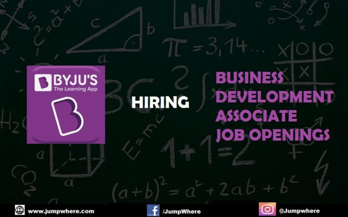 byjus-business-development-associate-openings
