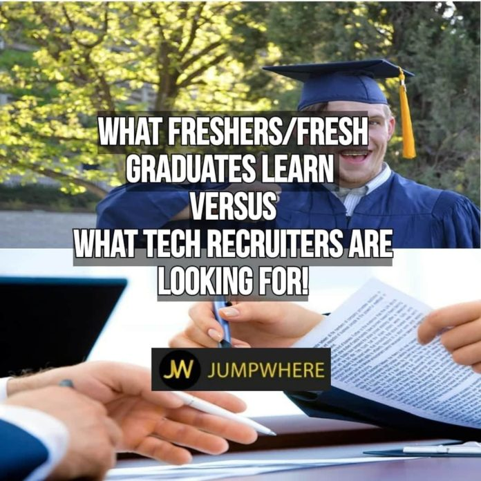 qualities every recruiter will look while hiring freshers or fresh graduates