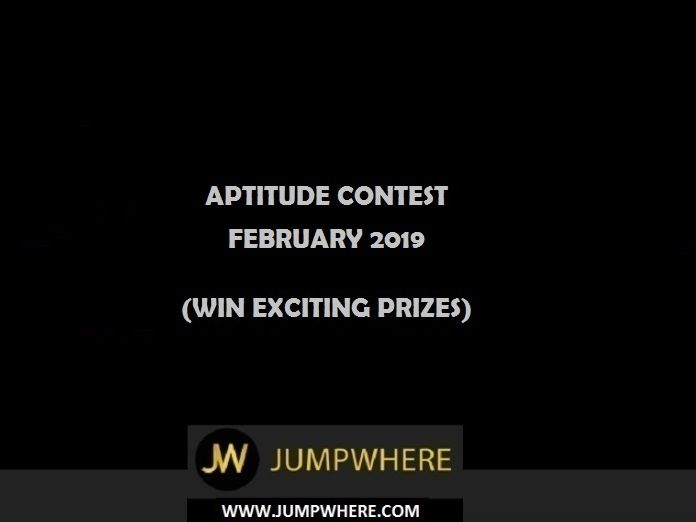 jumpwhere Aptitude Contest - February 2019