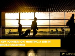 5 key pointer on hunting a job abroad based on my personal experience