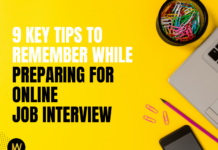 9 Key Tips to remember While Preparing for Online Job Interview